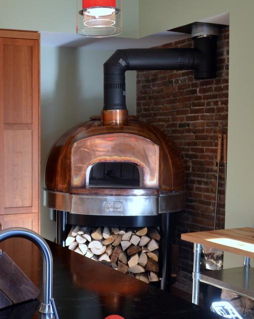 Brownstone remodel modern kitchen boston by the for Brownstone kitchen ideas