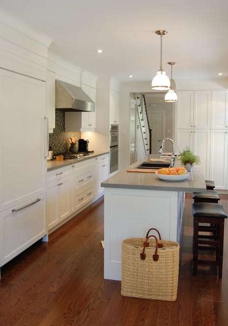 Brownstone renovation contemporary kitchen toronto for Brownstone kitchen ideas