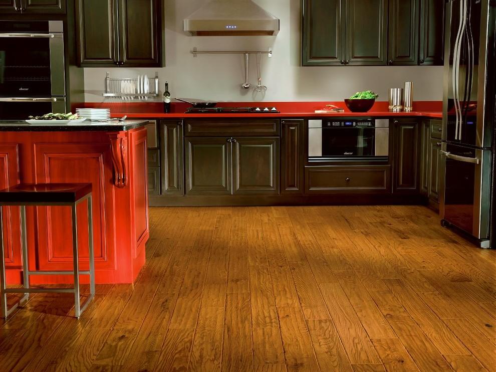 bruce flooring products  modern  kitchen  philadelphia
