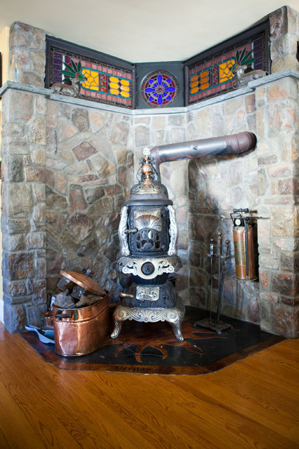 Bruce rosenbaum eclectic kitchen boston by theresa for Kitchen designs steampunk