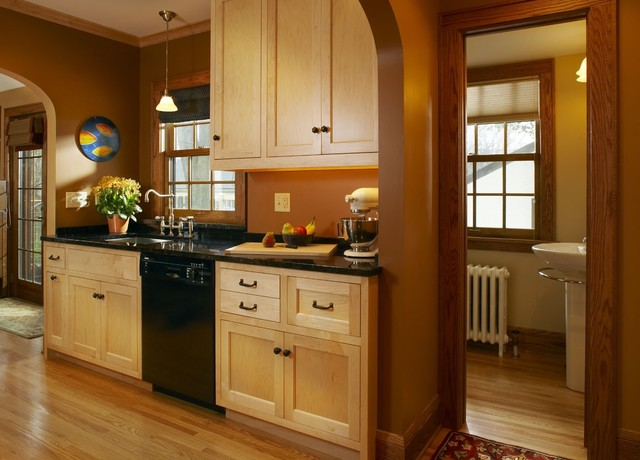 Inspiration For A Timeless Kitchen Remodel In Minneapolis With  Recessed Panel Cabinets, Light Wood