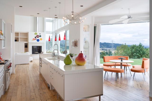 Brunstrom Residence contemporary-kitchen