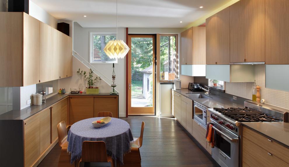 Brunswick Avenue Residence - Contemporary - Kitchen ...