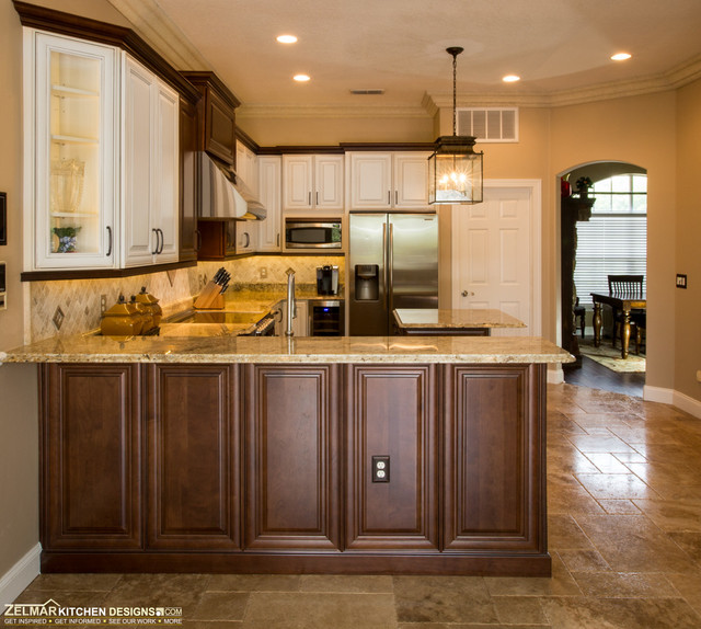 Zelmar Waypoint Bruskotter Remodel Traditional Kitchen Orlando By Zelmar Kitchen Designs