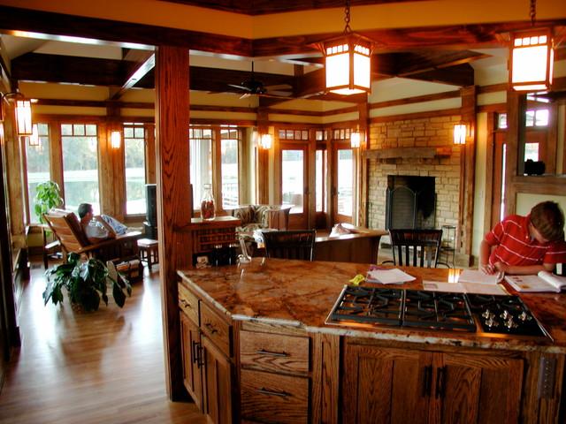 Bryant Residence 2007 craftsman-kitchen
