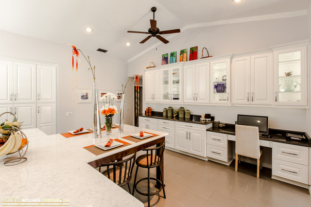 Bryant Waypoint Zelmar Kitchen Remodel Contest Winner Contemporary Kitchen Orlando