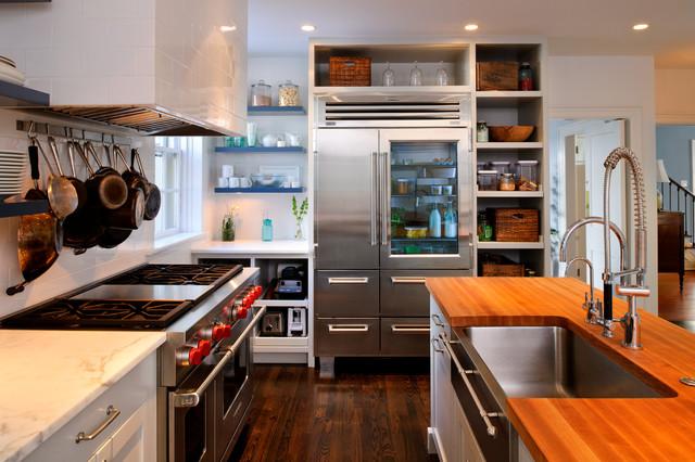 Bryn Mawr English Tudor Kitchen Remodel traditional-kitchen