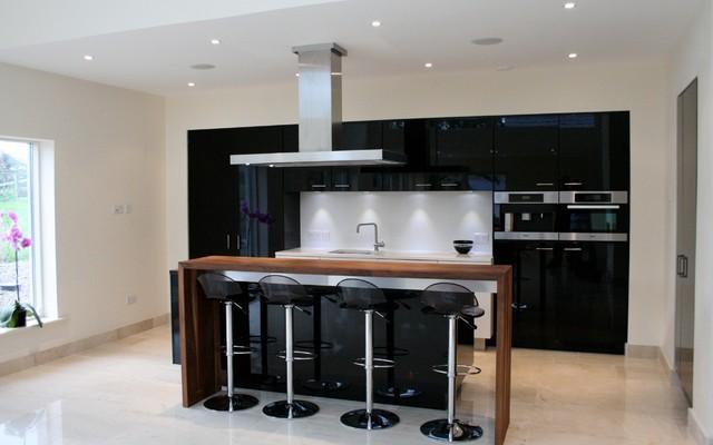 Bucht Haus modern-kitchen