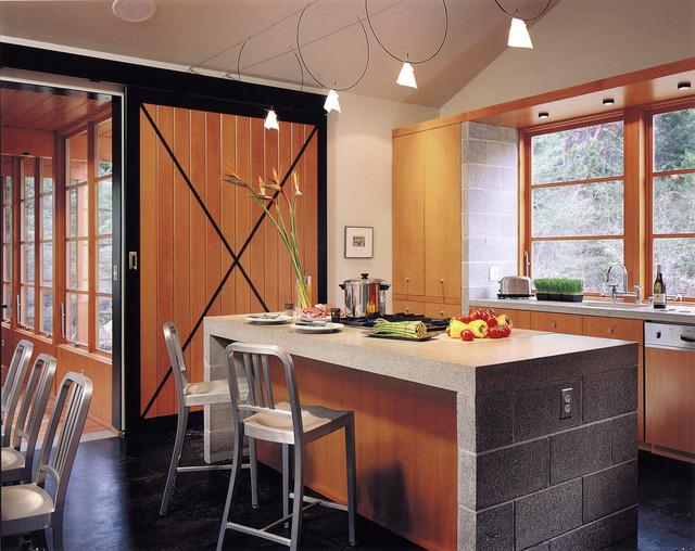 Buchter Retreat Rustic Kitchen Seattle By David