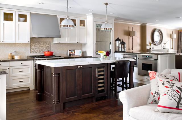 Buckingham ave residence traditional kitchen for Buckingham kitchen cabinets