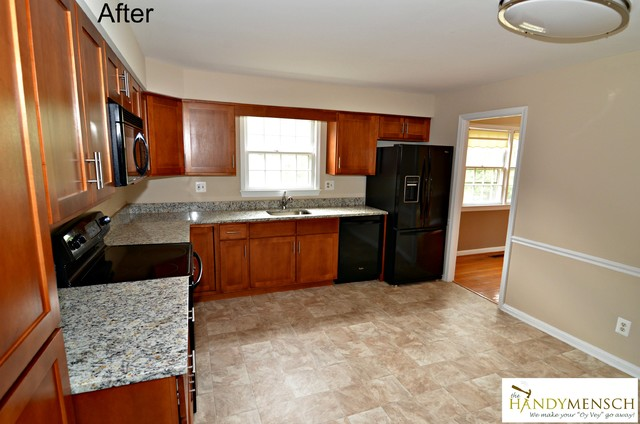 Budget Kitchen Remodel traditional-kitchen