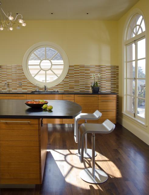 Buena Vista House Dining Room contemporary-kitchen
