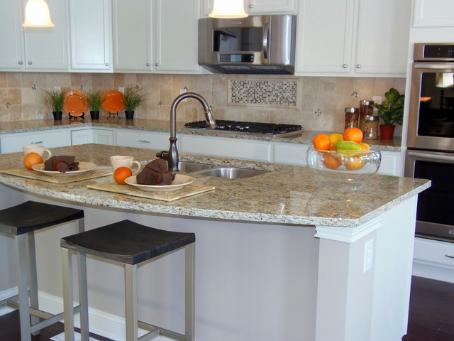 Builder Inventory Home Traditional Kitchen Indianapolis By Center Stage Design