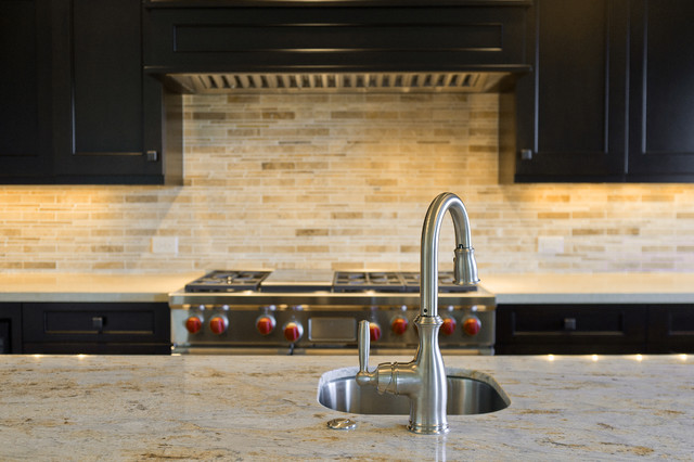 Built by Utah Luxury Home Builder, Cameo Homes Inc. in Park City traditional-kitchen