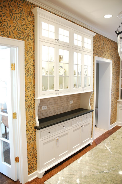Beaded Inset Kitchen traditional-kitchen