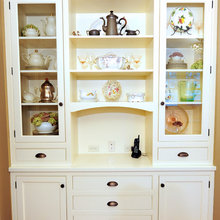Built-in Hutch for Kitchen Storage