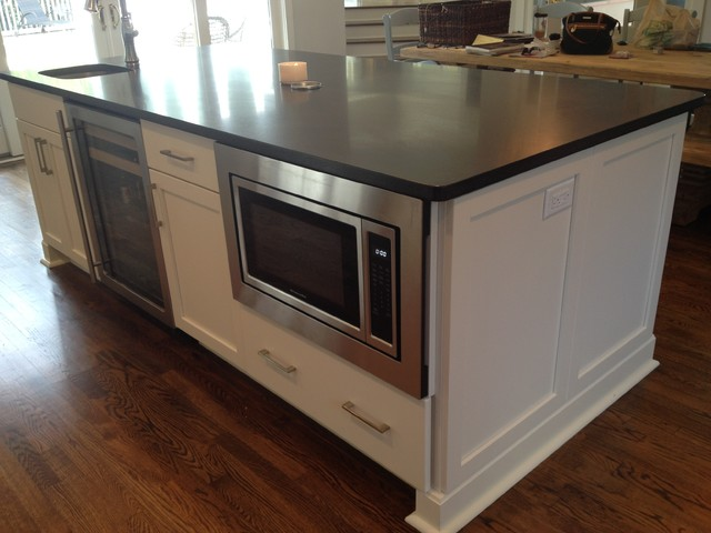 Built-in Microwave - Beach Style - Kitchen - Other - by Center Point ...
