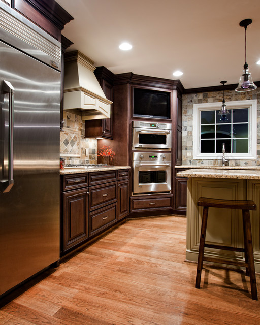 kitchen designs with built in ovens built in ovens and tv traditional kitchen other 565