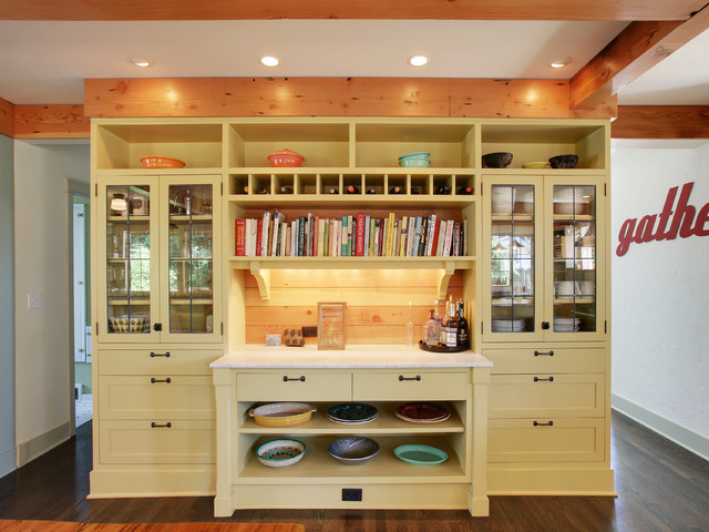 Built-Ins traditional-kitchen