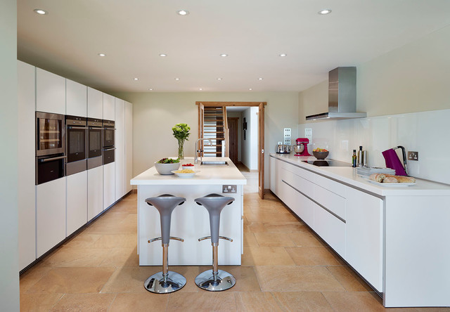 bulthaup b1 kitchen country home contemporary kitchen wiltshire by hobsons choice. Black Bedroom Furniture Sets. Home Design Ideas