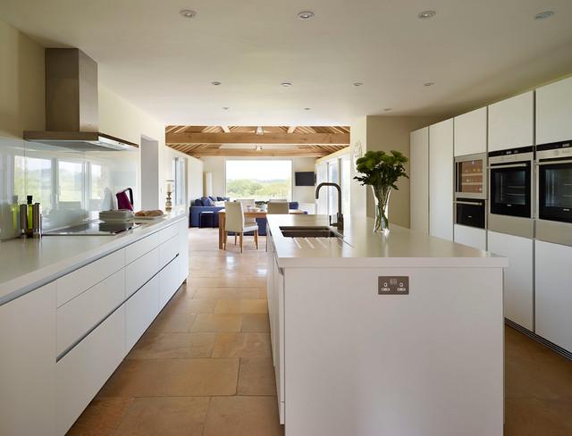 Bulthaup Kitchen Island Part - 15: Bulthaup B1 Kitchen - Country Home Contemporary-kitchen