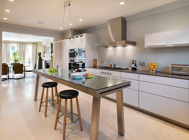 contemporary kitchen by hobsons|choice