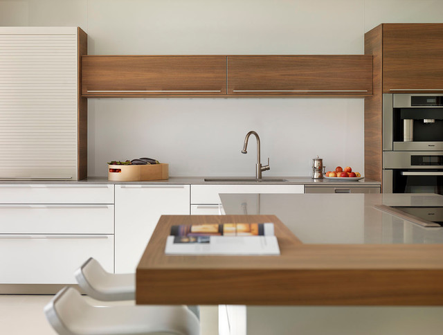 This Is An Example Of A Modern Kitchen In Wiltshire.