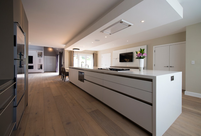 bulthaup b3 kitchen in a new country home contemporary. Black Bedroom Furniture Sets. Home Design Ideas