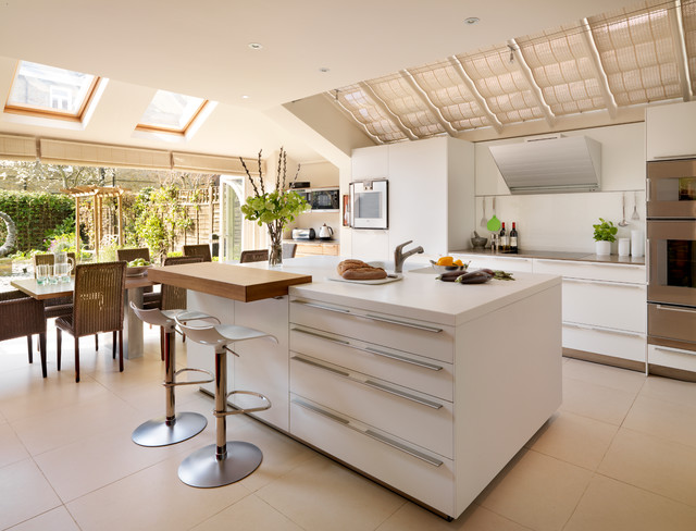 London Town House contemporary-kitchen
