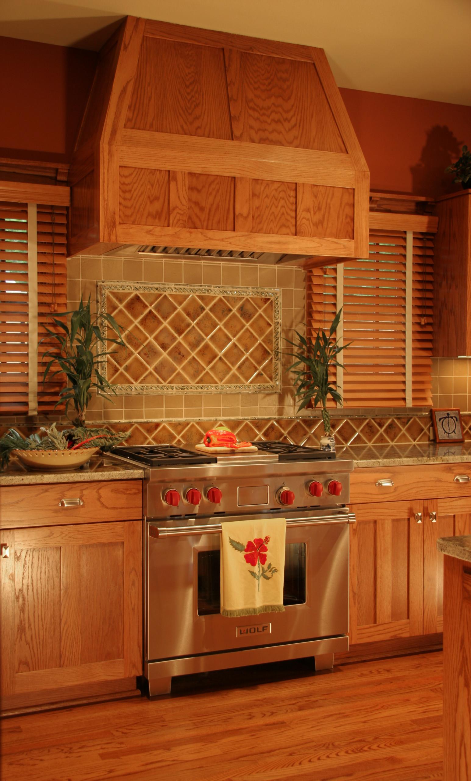 Bungalow Kitchen Range Detail