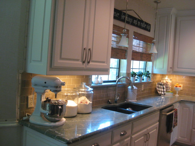Burlap and Glass traditional-kitchen