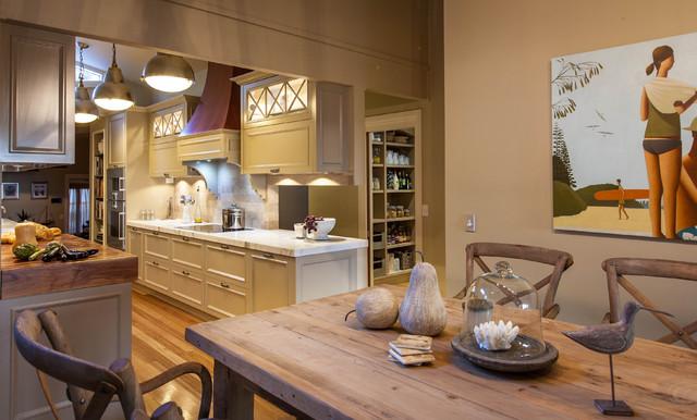 Burleigh Heads Hampton Style Kitchen - Traditional ...