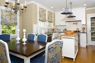 Burlingame Residence Two traditional kitchen