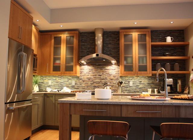 Mediapolis Residence contemporary-kitchen