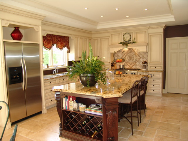Burlington Residence Traditional Traditional Kitchen Toronto By Roma Kitchens Design