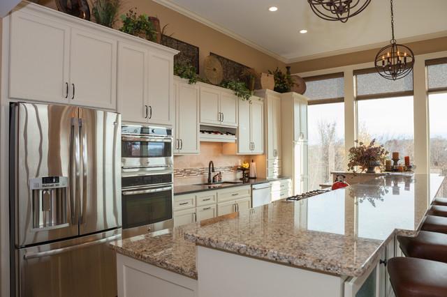 Burnsville Countertop And Backsplash 2014 Traditional Kitchen Minneapolis By Inspiration