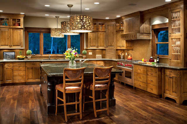Burrough Residence Rustic Kitchen Other By North