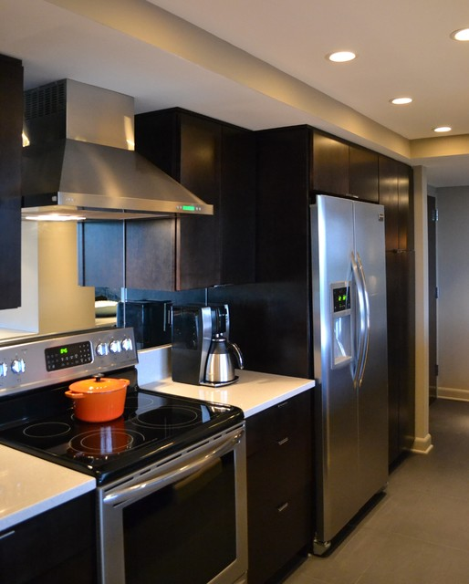 Burrus modern kitchen indianapolis by the for Modern kitchen company