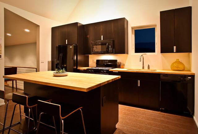 butcher block kitchen contemporary-kitchen