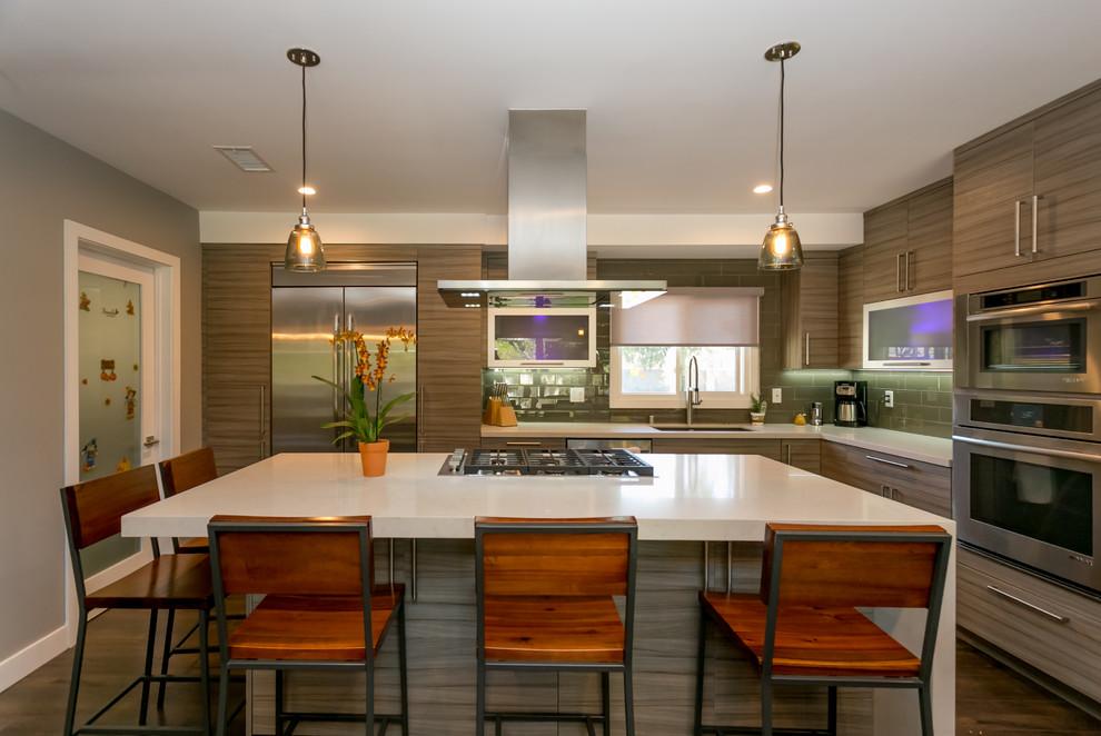 Butcher Residence-Woodland Hills - Kitchen - Los Angeles ...