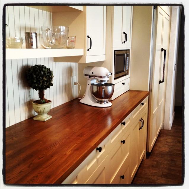 Butcherblock Countertop - Traditional - Kitchen - phoenix - by Cut Designs