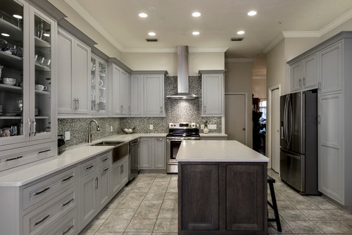 Beautiful Cabinets! Could I please get the color of the grey?