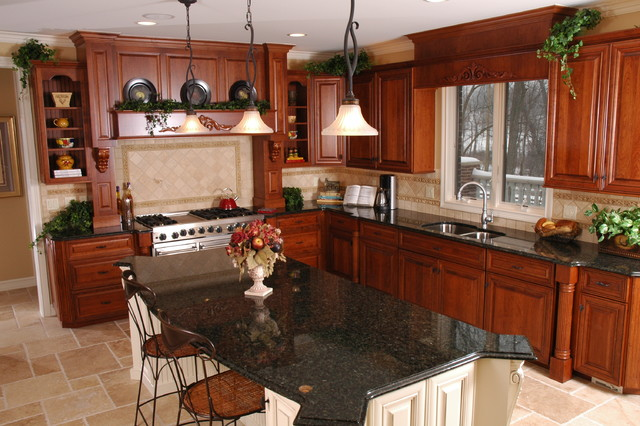 Butler Ridge Model traditional-kitchen