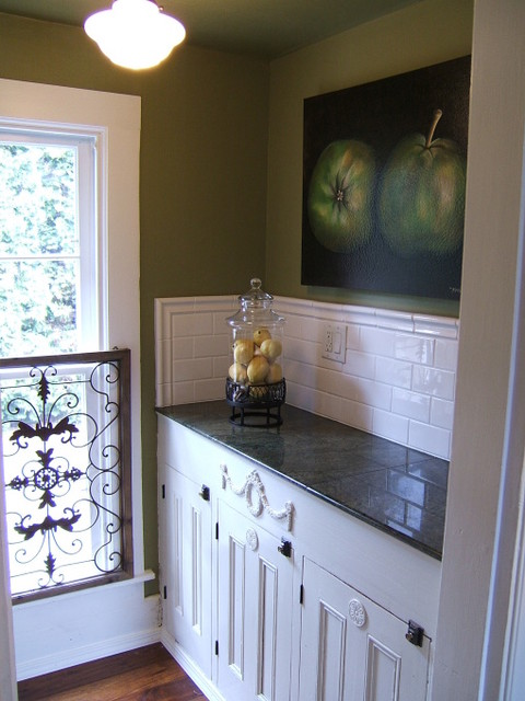 Butler's Pantry traditional-kitchen