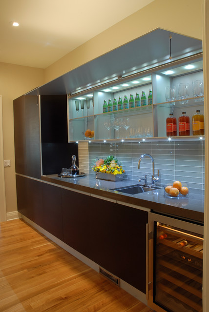 Butler's Pantry contemporary-kitchen