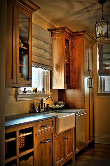 Butlers Pantry - Farmhouse - Kitchen - new york - by CCS Woodworks Inc.