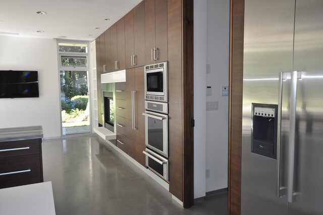 By the Creek contemporary-kitchen
