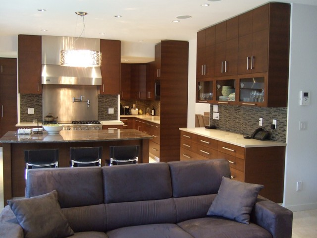 By the Park contemporary-kitchen