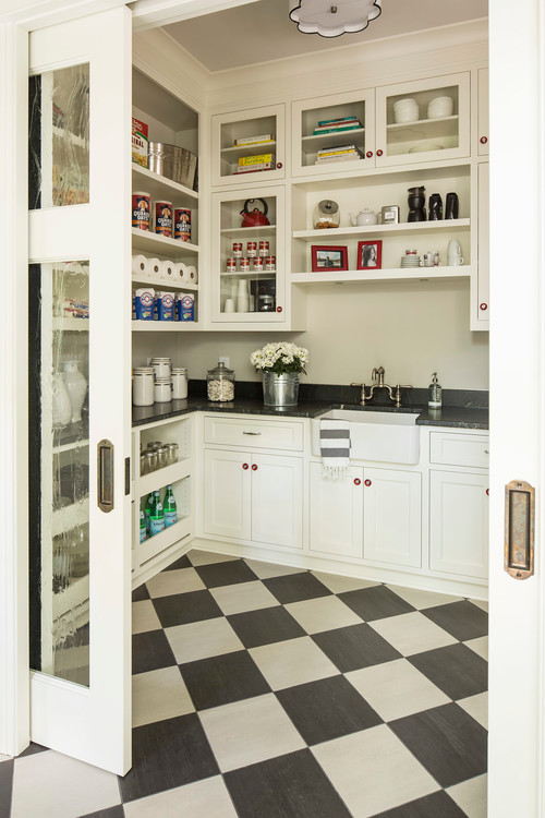 A Double Seeded Glass Pocket Door That Leads To A Crazy Cool Butleru0027s Pantry?  Shut. UP.