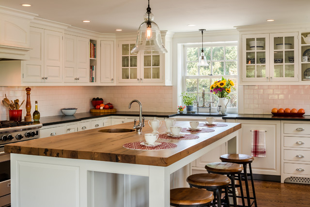 Sympathetic Addition | Kennett Square, PA - Farmhouse - Kitchen - Philadelphia - by Period ...
